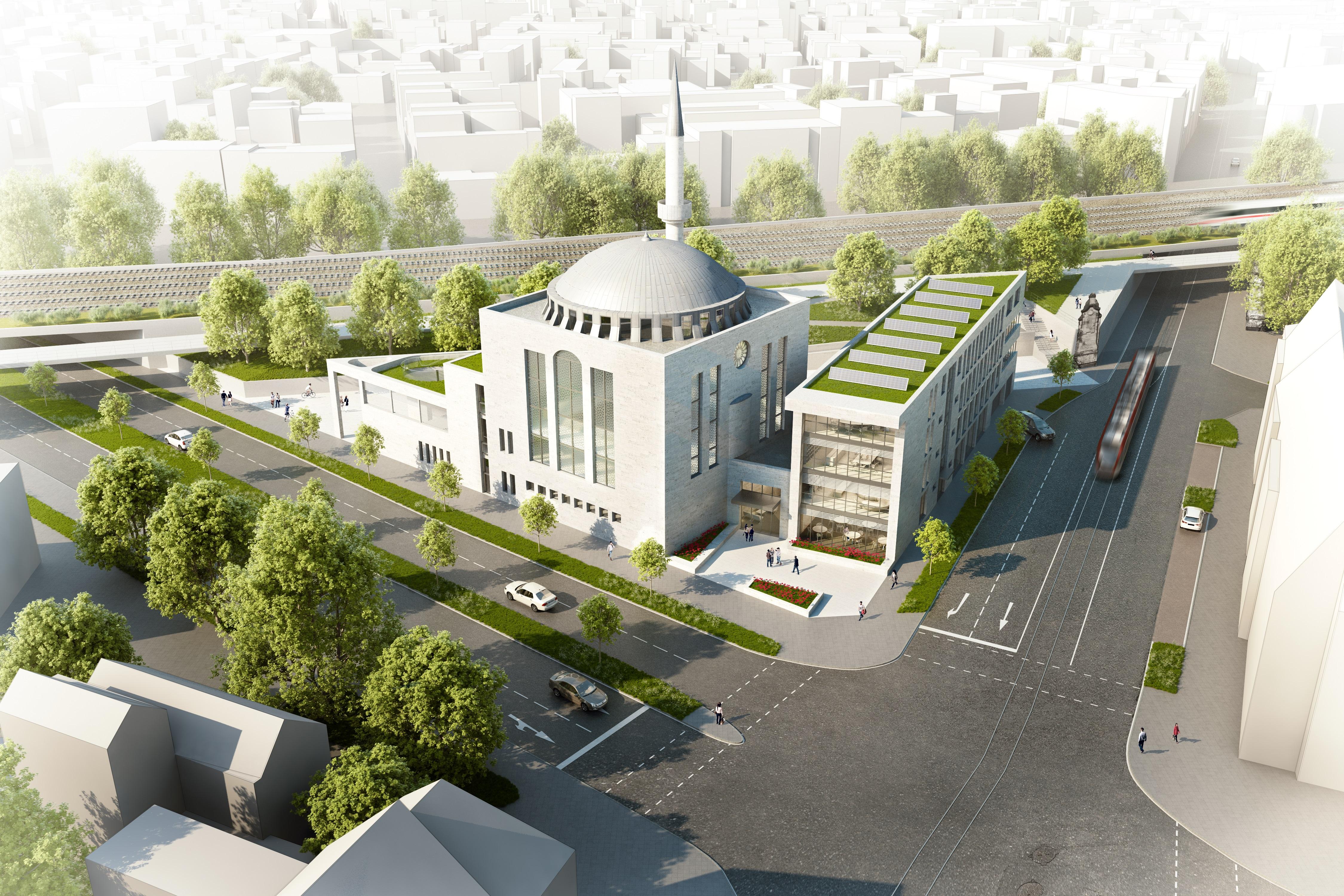 Foto: DITIB – Türkisch-Islamische Gemeinde zu Krefeld e.V. // Architekt: Nihat Bilgic